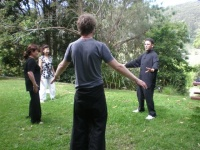 Tai Chi at Kabbalah Meditation Retreat